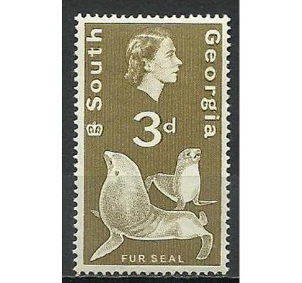 Znaczek Georgia Południowa i Sandwich Południowy 1963 Mi 13 Czyste **