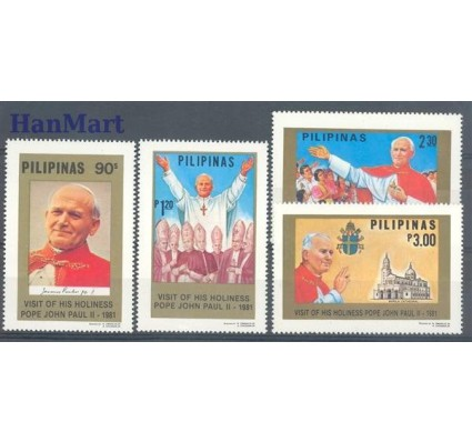 Znaczek Filipiny 1981 Mi 1398-1401 Czyste **