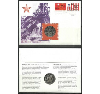 Znaczek Holandia 1997 Mi num 1620-1621 FDC
