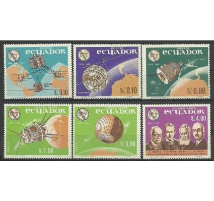 Znaczek Ekwador 1966 Mi 1190-1195 Czyste **