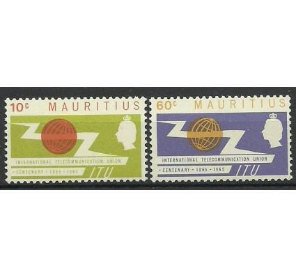 Znaczek Mauritius 1965 Mi 283-284 Czyste **