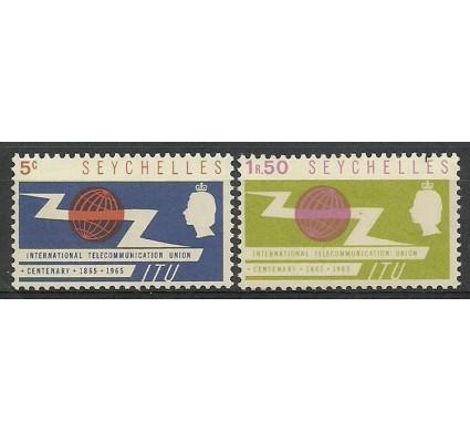 Znaczek Seszele 1965 Mi 220-221 Czyste **