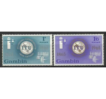 Znaczek Gambia 1965 Mi 205-206 Czyste **