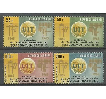 Znaczek Gwinea 1965 Mi 298-301 Czyste **