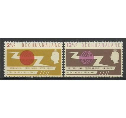 Znaczek Bechuanaland / Beczuana 1965 Mi 177-178 Czyste **