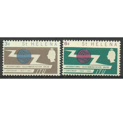 Znaczek Wyspa św. Heleny 1965 Mi 167-168 Czyste **