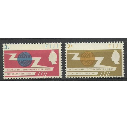 Znaczek Fidżi 1965 Mi 183-184 Czyste **