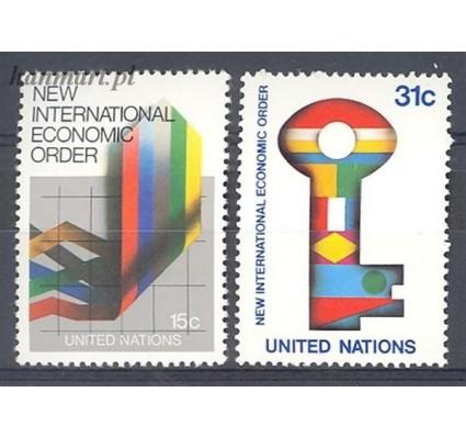 Narody Zjednoczone Nowy Jork 1980 Mi 340-341 Czyste **