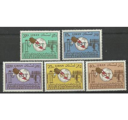 Znaczek Liban 1966 Mi 935-939 Czyste **