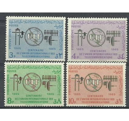 Znaczek Arabia Saudyjska 1965 Mi 211-214 Czyste **