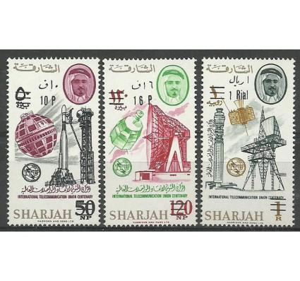 Znaczek Sharjah 1966 Mi 80-82 Czyste **