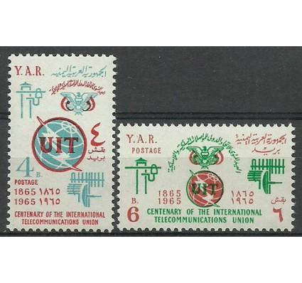Znaczek Jemen Północny 1965 Mi 423-424 Czyste **