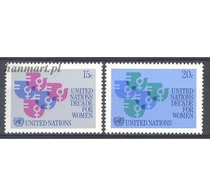 Narody Zjednoczone Nowy Jork 1980 Mi 342-343 Czyste **