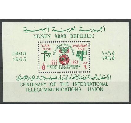 Znaczek Jemen Północny 1965 Mi bl 35 Czyste **
