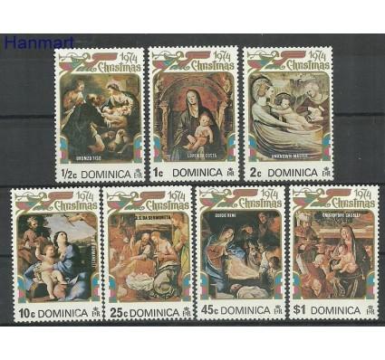 Znaczek Dominika 1974 Mi 410-416 Czyste **