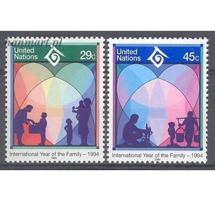 Narody Zjednoczone Nowy Jork 1994 Mi 661-662 Czyste **