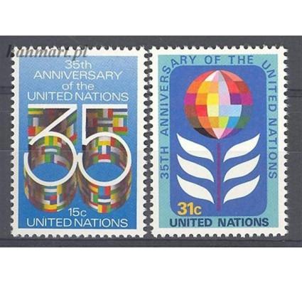 Narody Zjednoczone Nowy Jork 1980 Mi 346-347 Czyste **