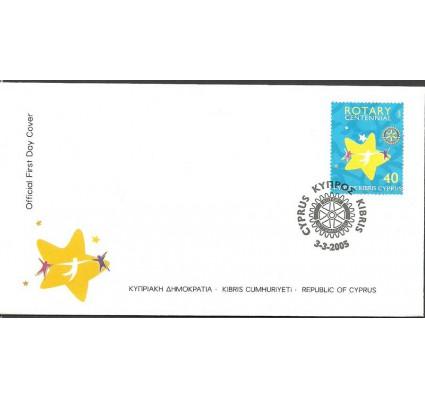 Znaczek Cypr  2005 Mi 1054 FDC