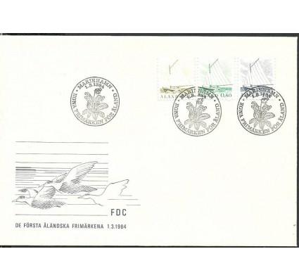 Znaczek Wyspy Alandzkie 1984 Mi 1-3 FDC