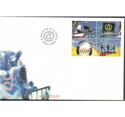 Znaczek Wyspy Alandzkie 1998 Mi 136-139 FDC