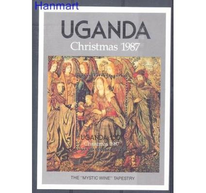 Znaczek Uganda 1987 Mi bl 76 Czyste **