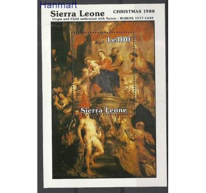 Znaczek Sierra Leone 1988 Mi bl87 Czyste **