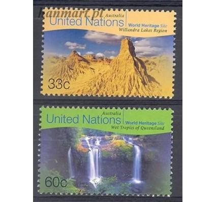 Narody Zjednoczone Nowy Jork 1999 Mi 807-808 Czyste **