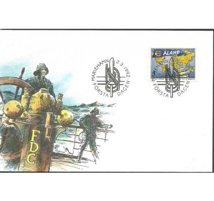 Znaczek Wyspy Alandzkie 1992 Mi 55 FDC