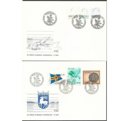 Znaczek Wyspy Alandzkie 1984 Mi 1-6 FDC
