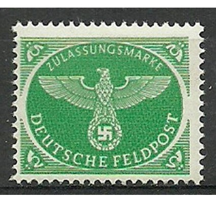 Znaczek Deutsches Reich / III Rzesza 1944 Mi 4-Feld Czyste **