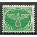 Deutsches Reich / III Rzesza 1944 Mi 4-Feld Czyste **