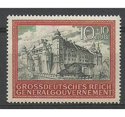 Znaczek Generalna Gubernia / GG 1943 Mi 116 Czyste **