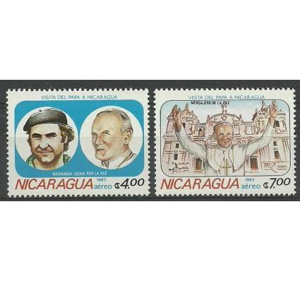 Znaczek Nikaragua 1983 Mi 2373-2374 Czyste **
