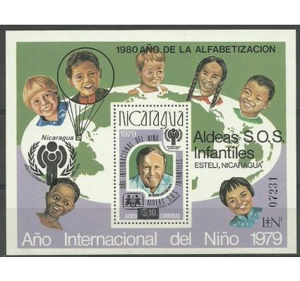 Znaczek Nikaragua 1980 Mi bl 133 Z podlepką *