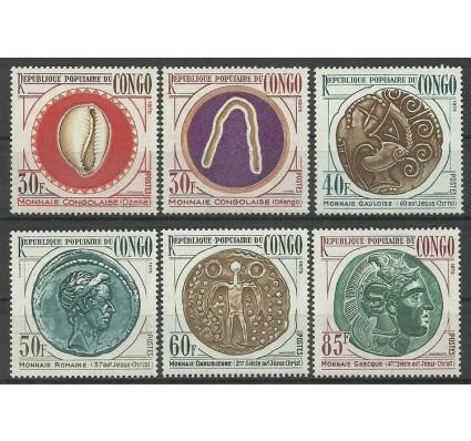 Znaczek Kongo 1975 Mi 485-490 Czyste **