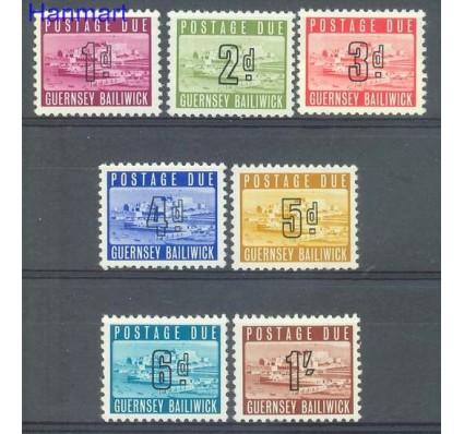Znaczek Guernsey 1969 Mi por 1-7 Czyste **
