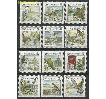 Znaczek Guernsey 1990 Mi 501-512 Czyste **
