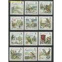 Guernsey 1990 Mi 501-512 Czyste **