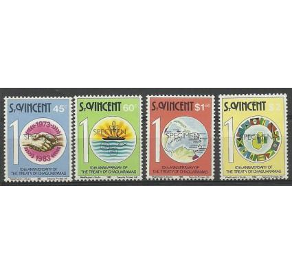 Znaczek St. Vincent 1983 Mi spe 656-659 Czyste **