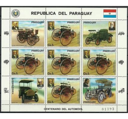 Znaczek Paragwaj 1986 Mi ark 3971 Czyste **