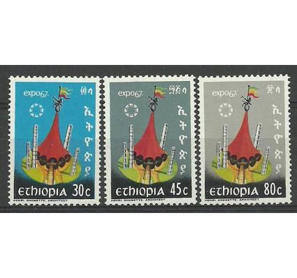 Znaczek Etiopia 1967 Mi 549-551 Czyste **
