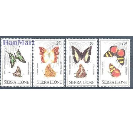 Znaczek Sierra Leone 1980 Mi 614-617 Czyste **
