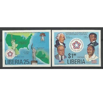 Znaczek Liberia 1976 Mi 1013-1014B Czyste **