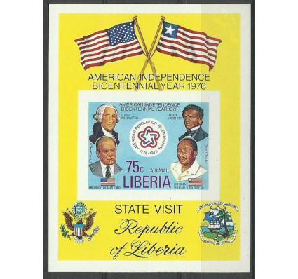 Znaczek Liberia 1976 Mi bl 83B Czyste **