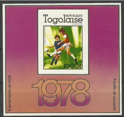 Znaczek Togo 1978 Mi bl 128B Czyste **