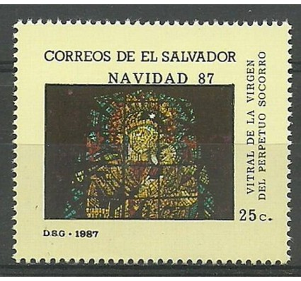 Znaczek Salwador 1987 Mi 1679 Czyste **