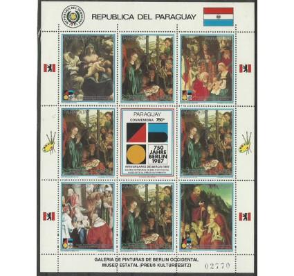 Znaczek Paragwaj 1987 Mi ark 4129 Czyste **