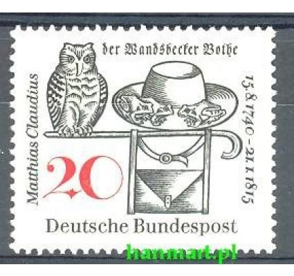 Znaczek Niemcy 1965 Mi 462 Czyste **
