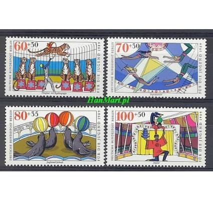 Znaczek Berlin Niemcy 1989 Mi 838-841 Czyste **