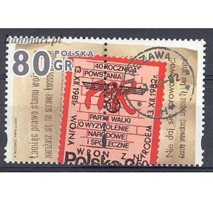 Znaczek Polska 2000 Mi zf 3874 Fi zf 3726 Czyste **